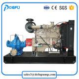 Grande capacidade da bomba de água centrífuga Bipartida com motor diesel