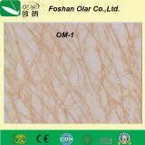 Scheda della decorazione del cemento della fibra--Strato decorativo ad alta densità del comitato