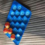 10 Jahre Goldlieferanten-Bescheinigung SGS-FDA WegwerfCustomed pp. Plastikfrucht-Tellersegment-