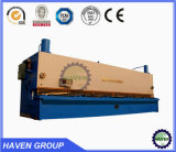 Macchina di taglio della ghigliottina idraulica di CNC QC11K-10X4000, tagliatrice del piatto d'acciaio di CNC Hydraulc