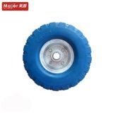 Vender directamente de fábrica 3.00-4 espuma de PU Barrow e roda mesa móvel