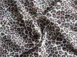 Gedrucktes Polyester Chiffon- Velvet für Dress (XSFC-003)