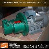 Pomp van de Olie van de Hoge druk van de Elektrische Motor van Bbg de Gedreven Enige Hydraulische