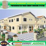 Stahlkonstruktion-Zwischenlage-Panel-modernes preiswertes Fertighaus/fabrizierte Kleber-Häuser vor