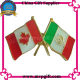 Distintivo della bandierina del metallo per il regalo militare del distintivo (m-FB01)