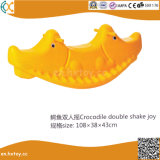 Пластиковый два места раскачивая качели для детей