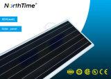 최고 광도 통합 지능적인 에너지 절약 태양 LED 가로등