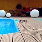 Composé en plastique en bois imperméable à l'eau de longue durée de vie