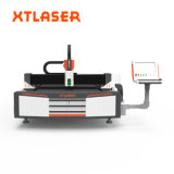 Cortador de metal automática Tecla Laser de fibra do fabricante da máquina de corte 500W