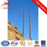 Гальванизировать восьмиугольный стальной столб передачи