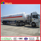 Becken-Schlussteil des Propan-Tanker-Transport-Sattelschlepper-LNG