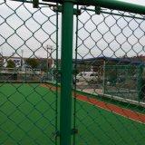 Frontière de sécurité galvanisée enduite par PVC de treillis métallique de fer de qualité