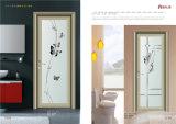 Nuova porta a battenti di alluminio di alta qualità e di disegno per la stanza da bagno