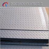 Galvanisierte Checkered Platten-Stahlgröße mit Riss-Absinken
