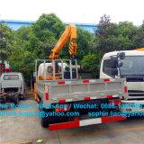 Forland benne avec grue 4x2 mini Camion-benne avec grue Grue de camion de ramassage