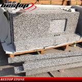 Dessus blanc chaud de vanité de salle de bains de granit de la vente G623
