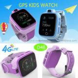 """1.54の""""スクリーンD48が付いている4G/WiFi Smartwatchの子供または子供GPSの追跡者の腕時計"""