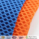 Resistente al agua 100% poliéster Soccer Jersey de Tricot Kintted tejido de malla de poliéster