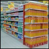 Hot Selling Wholesale Steel Supermarket Shelf / Shelving System / Display Rack