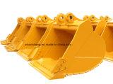 Gru a benna standard della benna dell'escavatore per la scavatura resistente della roccia di KOMATSU Hitachi Kobelco del trattore a cingoli