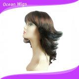 Migliori parrucche sintetiche nobili di vendita di stile di modo per le donne (SW-020b)