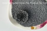 Pile de poussière dure Moins de litière de bentonite blanche