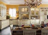 現代ホーム家具の木の食器棚