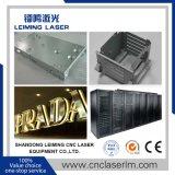 Machine de découpage de laser de fibre de haute performance pour la feuille de plaque métallique