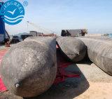Airbag Intisive para o lançamento do navio