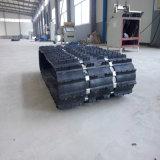 Ferro incorporado e folha de alumínio prateado para tamanhos grandes de neve Esteiras de Borracha