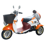 500W Motor Scooter eléctrico, Scooter con la caja trasera
