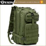Verde ejército militar de transporte medio nivel III de la bolsa de asalto Molle