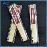 Alça de bambu personalizado impresso ventilador portátil dobrável