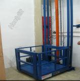 Table élévatrice de guide de bonne qualité de marchandises mécaniques hydrauliques électriques de longeron