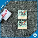 """Étiquette tissée par Endfolded colorée de modèle habillement de S pour gosse """""""