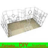 3X3 hasta 3X6 metros Exposición modular portable de la cabina de la exposición