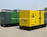 220kVA 176kw Reservebewertungs-Energien-BRITISCHER Motor-leiser Dieselgenerator