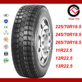 Pneu superbe de la qualité TBR, pneu de bus, pneu de camion (7.50R16, 8.25R16, 11R22.5, 12R22.5, 295/80R22.5)