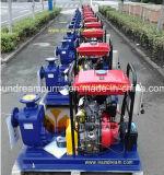 Bomba de aguas residuales del motor diesel con CE