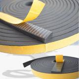 Esponja autoadhesiva de celda cerrada/espuma tiras de sellado de caucho para mueble