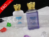 Дешевая прозрачная бутылка или мягкие шампунь и проводник гостиницы пробки