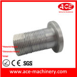 CNC maschinelle Bearbeitung des AluminiumBurrette Kontaktbuchse-Teils