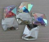 Garment Accessories를 위한 Stone에 도매 Flat Back Crystal Ab Sew