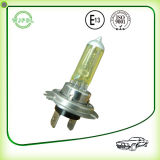 Indicatore luminoso di nebbia dell'automobile dell'alogeno del faro H7 12V/lampada gialli
