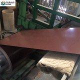 Dx51d PPGI Prepainted Folha de Telhado de aço corrugado galvanizado PPGI