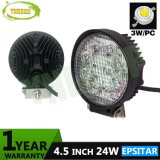 24W 4.5inch Epistar 옥외 자동 작동 램프 LED 일 빛