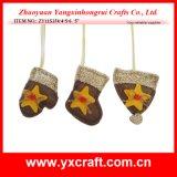 Approvisionnements de métier de Noël de vente en gros de bride de fixation d'arbre de Noël de la décoration de Noël (ZY11S374-4-5-6)