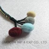 Correia do Pompom da forma feita do cabo de Brad e do Tassel colorido