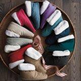 Sapata de Inverno personalizados homem/mulher House Design Calçado botas para baixo