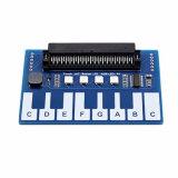 3,3V Piano Module pour BBC Micro : Bit Microbit Touches tactiles pour jouer la musique, sur la carte contrôleur tactile capacitif Ttp229, avec 4 x LED RVB de l'éducation, pour les enfants